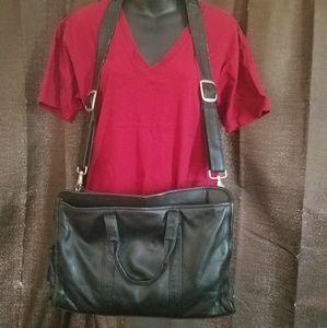Beautiful leather Wilson's bag